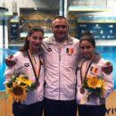 Nicoleta Angelica Muscalu si Antonia Mihaela Pavel, bronz la Campionatele Mondiale de sarituri in apa