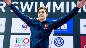 Robert Glinta, medalie de argint la Campionatele Europene de inot