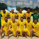 Victorie pentru echipa Romaniei de fotbal pe plaja in primul meci pentru promovarea in Divizia A