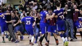 CSA Steaua s-a calificat in turul II al Cupei EHF la handbal masculin!
