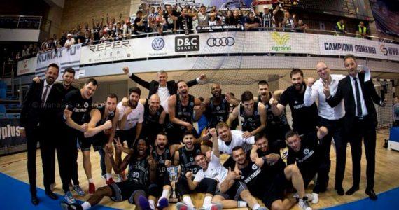 U-BT Cluj-Napoca a castigat Supercupa Romaniei la baschet masculin