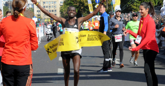 Kenyanul Hosea Kipkemboi si etiopiana Almaz Gelana Erba au castigat Maratonul International Bucuresti