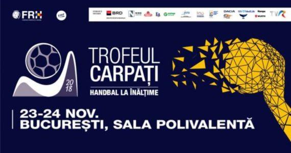 Trofeul Carpati incepe astazi la Sala Polivalenta din Bucuresti